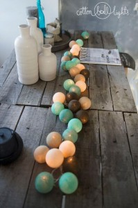 Cotton Ball Lights - Peppermint chocolate 50 kul