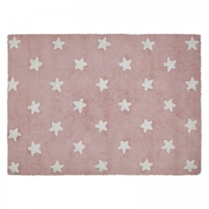 Lorena Canals - Dywan Pink Star White 120x160cm