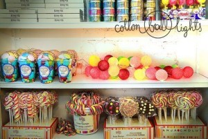 Cotton Ball Lights - Candy 35 kul