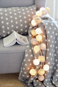 Cotton Ball Lights - by pretty pleasure 10 kul
