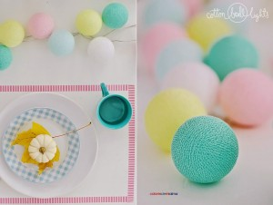 Cotton Ball Lights - Colores de mi alma 50 kul